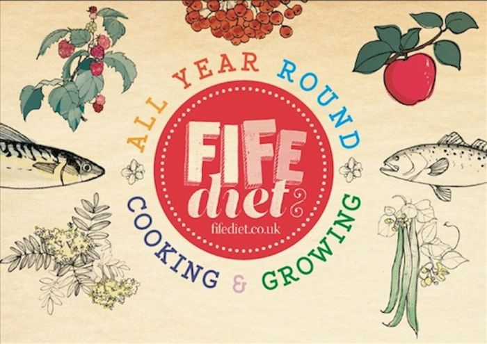 The Fife Diet logo